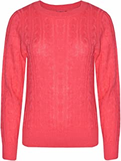 1a380a0252cdbb Bling Womens Winter Cable Knit Long Sleeve Knitted 6 Color Jumper Sweater