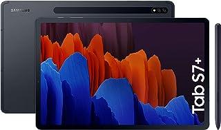 """Samsung Galaxy Tab S7+ - Tablet de 12.4"""" QHD (Wifi, Procesador Qualcomm Snapdragon 865 Plus, RAM de 6GB, Almacenamiento de..."""