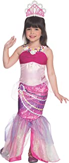 Rubies Barbie and The Pearl Princess Deluxe Lumina Costume, Child Small