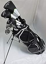 Callaway Mens Golf Set Complete Driver, Wood, Hybrid, Irons, Putter, Clubs Stand Bag Regular Flex