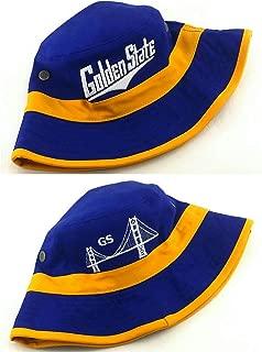 Golden State New GS Bucket Skyline Fishing Bridge Blue Gold Era Hat Cap