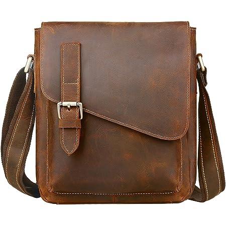 Jack&Chris Handmade Leather Messenger Bag