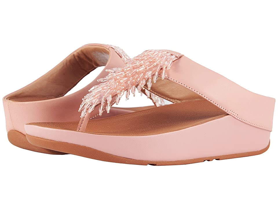 FitFlop Rumba Toe Thong Sandals (Dusty Pink) Women