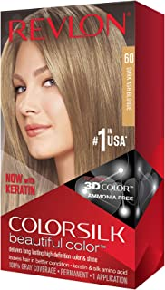 Revlon Colorsilk Haircolor #60 Dark Ash Blonde 6A (並行輸入品)