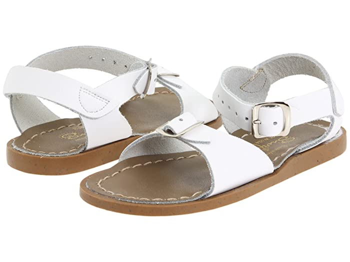 Salt Water Sandal by Hoy Shoes  Surfer (Toddler/Little Kid) (White) Kids Shoes