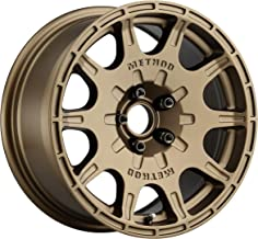 Method Race Wheels MR502 VT-SPEC 2 Method Bronze Wheel with Painted (15 x 7. inches /5 x 100 mm, 15 mm Offset)