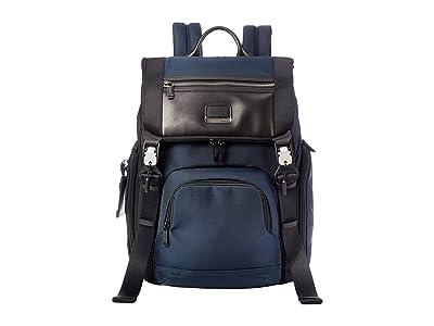 Tumi Alpha Bravo Lark Backpack (Navy) Backpack Bags