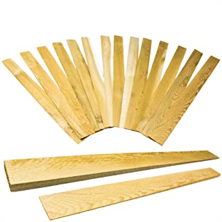 Pro Projects Extra Long 15in Tapered Cedar Wood Shims 13 Pack. Perfect Weather Resistant Home Improvement Tool for Install...