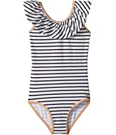 Chloe Kids - Striped One-Piece Swimsuit (Toddler/Little Kids)