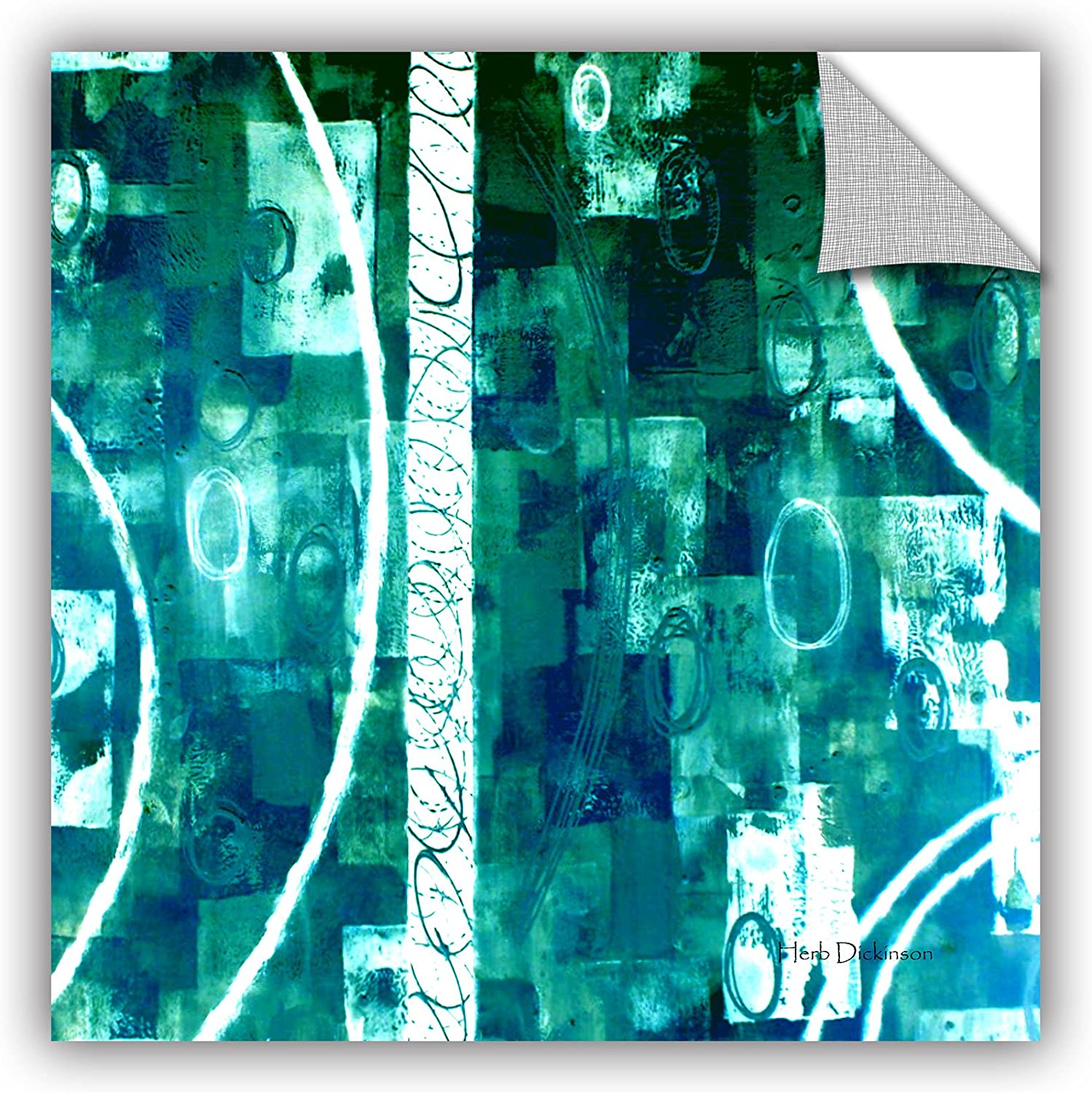 Art Wall Herb Dickinson's Process Art Appeelz Removable Graphic Wall Art, 18 by 18Inch