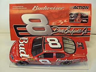 NASCAR Action RCCA Racing Collectables Club Car 4th Straight Talladega Win Dale Earnhardt Jr 8 Budweiser 2003 Raced Win Version April 2003 1 24 Scale Diecast Hood Opens Limited Edition Action Racing