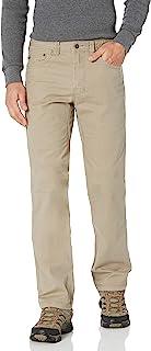 "prAna Men's Standard Bronson Pant 32"" Inseam, Dark Khaki, 38W 36L"