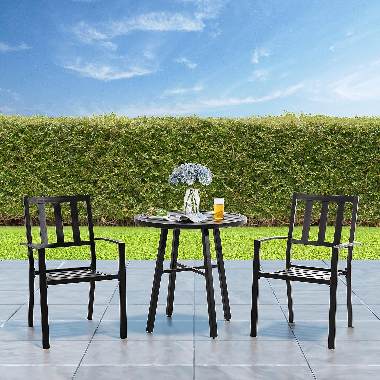 Outdoor Bistro Set 3 Piece Wea Furniture All Excellence Conversation Max 46% OFF Patio