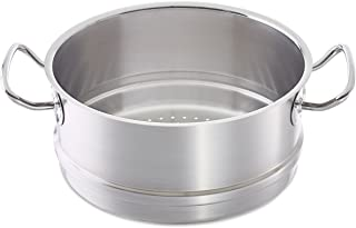 Fissler original-profi collection / Accesorio para cocinar al vapor (Ø20cm) de acero inoxidable, compatible con ollas aptas para cocinas de inducción, gas, vitrocerámica y eléctricas