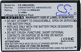 Replacement Battery for Samsung DoubleTake, Glyde 2, Intensity II, Intensity SCH-U450, Intensity U450, Rogue SCH-U960, Rogue U960, SCH-U450, SCH-U460, SCH-U960
