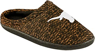 FOCO NCAA Mens Poly Knit Cup Sole Slipper