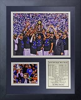 Legends Never Die NCAA Duke Blue Devils 2015 Basketball National Champions Celebration Framed Photo Collage, 11