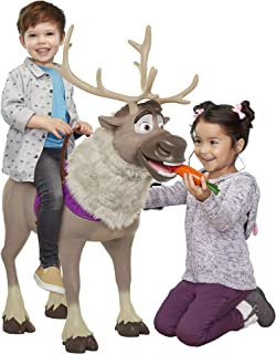 Sven Reindeer Frozen 2 My Size Playdate Sven with Sounds, Perfect Child-Size Pal for Girls, Boys, Stands Over 3 Feet Tall from Hoof to Antler, Supports Kids Up to 70 lbs