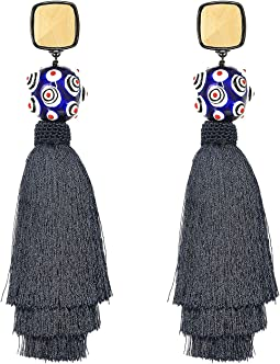 Tory Burch - Silk Tassel Earrings