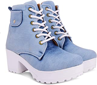 KRAFTER Women's Canvas Boots