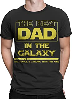 Muggies T-Shirt Best Dad in The Galaxy, Force is Strong with This One