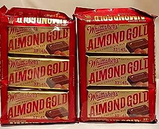 Almond Gold Slab Milk Chocolate (Pack 3)