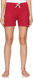 Easybuy Women's Night wear Knitted Printed Short Regular Cotton