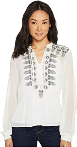 Roper - 1318 Solid Georgette Blouse