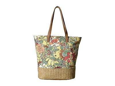 Sakroots Artist Circle Horizon Tote (Sunlight Flower Power) Tote Handbags