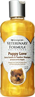Veterinary Formula Solutions Puppy Love Extra Gentle Tearless Shampoo – Safe for Puppies Over 6 Weeks – Long-Lasting Clean, Fresh Scent – Cleanses Without Drying Delicate Skin (17oz)