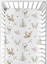 fawn crib sheet