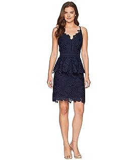 Nadiie Lace Detail Peplum Dress