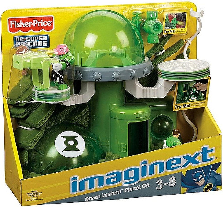 Ahorre 35% - 70% de descuento Fisher-Price Imaginext Imaginext Imaginext verde Lantern Jugarset  Con precio barato para obtener la mejor marca.