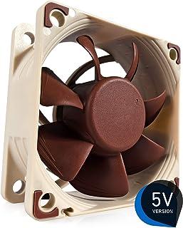 Noctua NF-A6x25 5V, Premium Quiet Fan, 3-Pin, 5V Version (60mm, Brown)