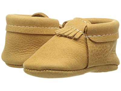 Freshly Picked Soft Sole City Moccasins (Infant/Toddler) (Beehive State) Kids Shoes