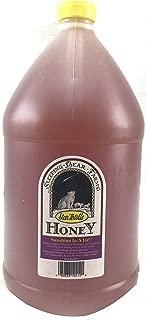 Raw Honey 1 Gallon Jug - 12 Lbs. Unfiltered, Unpasteurized, Unblended, Bulk Honey, No Additives, Spreadable Creamy Honey