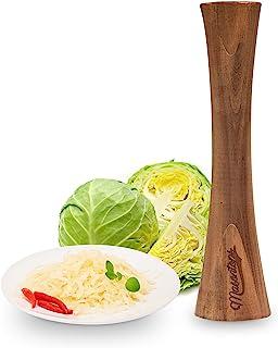 Masontops Pickle Packer – Holzstampfer für Sauerkraut- und Gemüsegärung aus natürlichem Akazienholz
