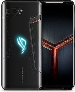 "ASUS ROG Gaming Phone II (ZS660KL-S855P-12G512G-BK) - 6.6"" FHD+ 2340x1080 HDR 120Hz Display - 48MP/13MP Camera – 12GB RAM - 512GB Storage - LTE Unlocked Dual SIM Cell Phone - US Warranty - Black"