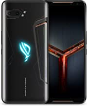 "ASUS ROG Gaming Phone II (ZS660KL-S855P-12G512G-BK) - 6.6"" FHD+ 2340x1080 HDR 120Hz Display - 48MP/13MP Camera – 12GB RAM - 512GB Storage - LTE Unlocked Dual SIM Cell Phone - US Warranty - Black"