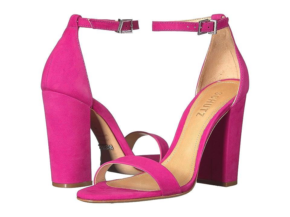 Schutz Enida (Rose Pink) High Heels