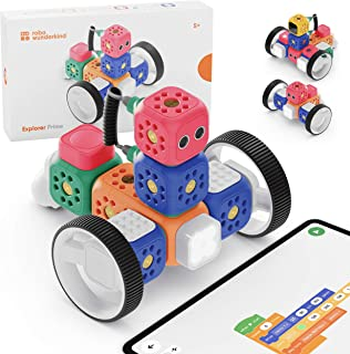 Robo Wunderkind Robots voor Kinderen vanaf 5 Jaar - Prijzenwinnend STEM Speelgoed om mee te Coderen - Robot Combineerbaar ...