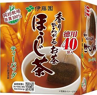 伊藤園 香りひろがるお茶 ほうじ茶 ティーバッグ 40袋