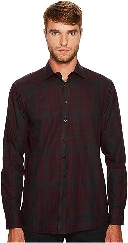 Etro - Shadow Plaid Button Down Shirt