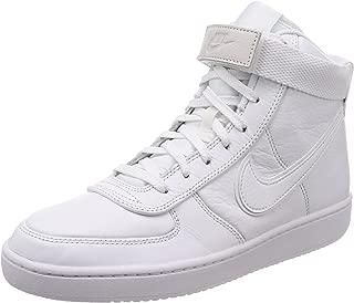 Nike Men's Vandal High Supreme LTR White/White-White Fashion Shoes (10.5)