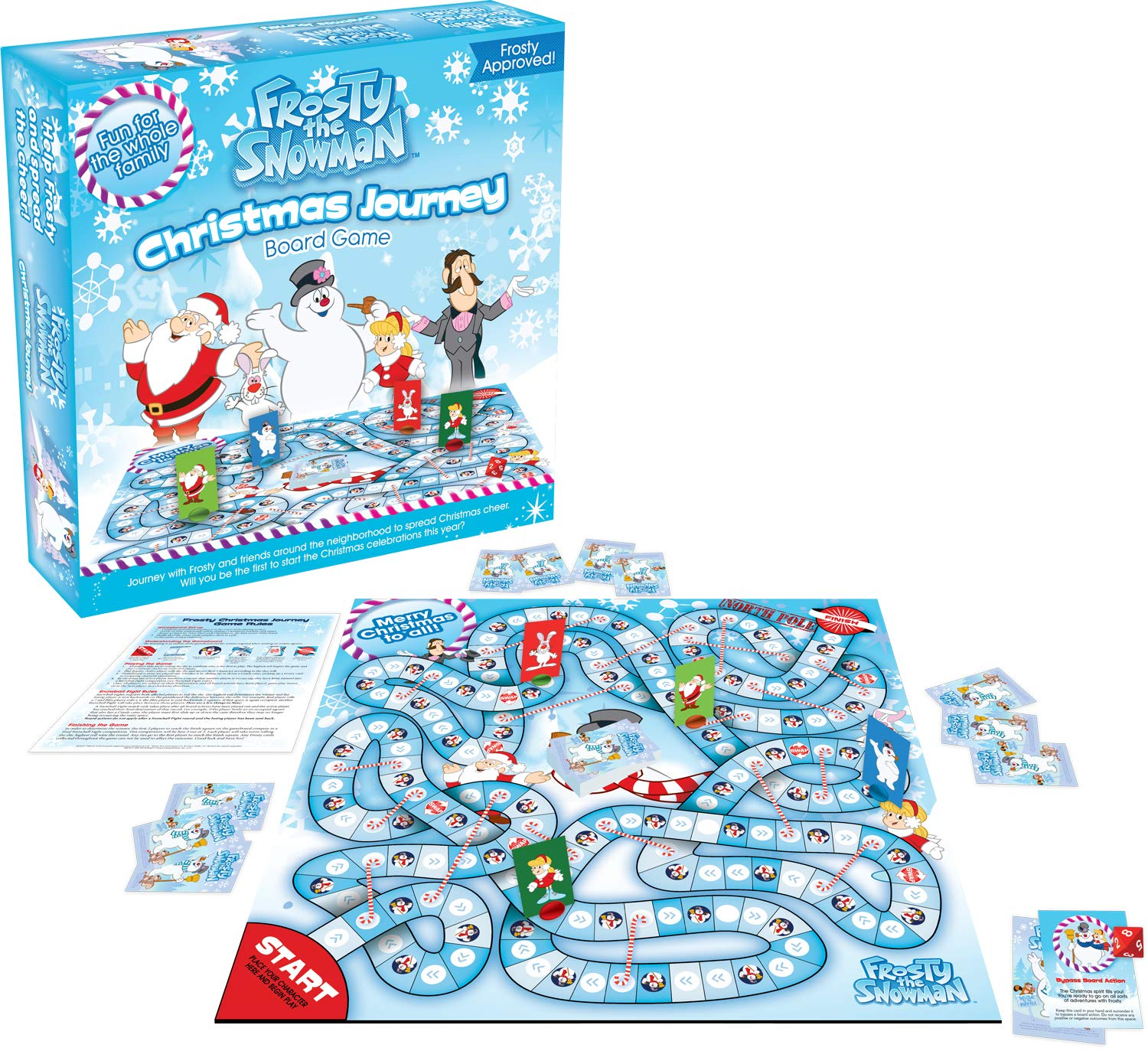 Image of Family Fun Frosty the Snowman Game