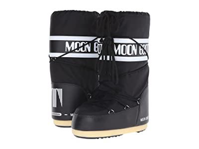 MOON BOOT Moon Boot(r) Nylon (Black) Cold Weather Boots