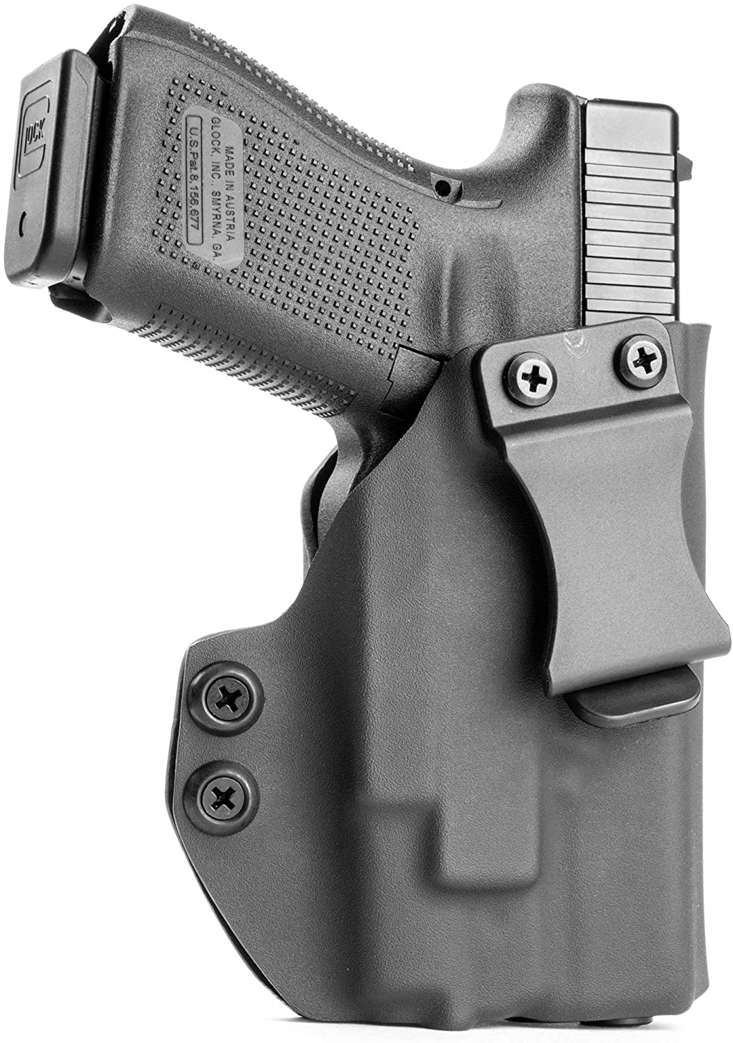 RR Holsters: IWB Kydex Holster for Memphis Mall Miami Mall Guns 2 with V PL-Mini OLIGHT