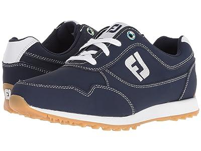 FootJoy Sport Retro Spikeless Street Sneaker (All Over Navy) Women