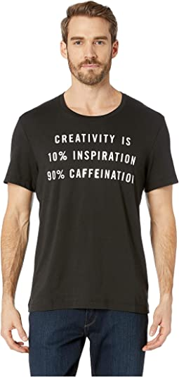 Creativity = Caffeination Graphic Tee