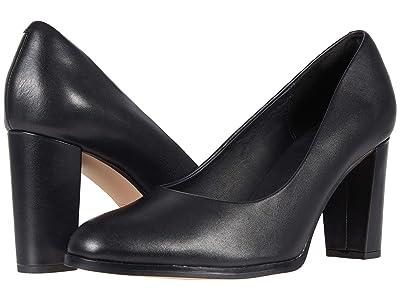 Clarks Kaylin Cara 2 (Black Leather) Women